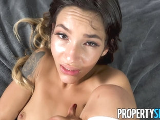 Propertysex Hot Babe Kitty Carrera Takes A Big Dick