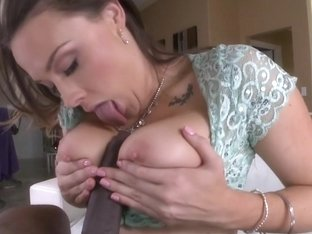 Chanel Preston Gets A Creampie From A Big...
