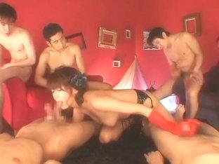 Incredible Japanese Slut In Crazy Handjobs, Stockings/pansuto Jav Scene