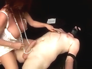 Punk Babe Hand Play With Cock