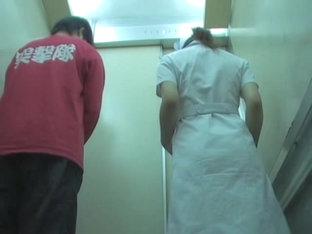 Unexpected Uniform Dress Sharking For The Pretty Nurse
