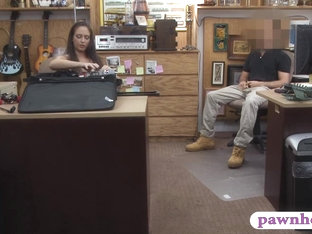 Ex Dominatrix Pawns Her Equipment And Nailed In The Backroom