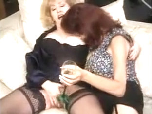 Fabulous Homemade Grannies, Stockings Sex Video