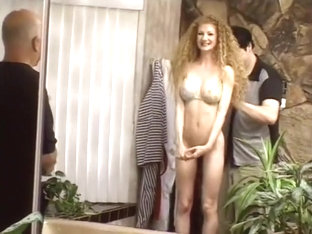 Curly Redhead Mrs A Gilbert Gets A Young Buck For Pussy Pounding And Cum Eating