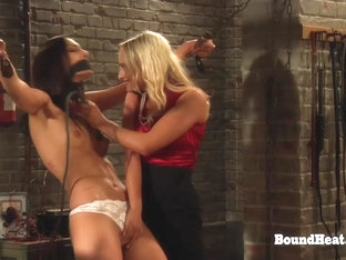 The Education Of Adela: Whipping And Training Lesbian Slave In Prison