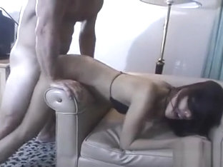 Glamorous Oriental Girl Cannot Stop Riding On This Pecker