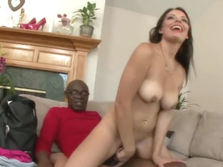 Kayla West Rides Black Dick Of Fitness Trainer