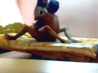 Indian Girl Couple Oral, Cowgirl And Missionary Sex In The Bedroom.