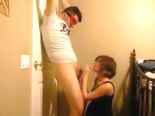 Pregant Wife Ties Up Hubby And Uses Him