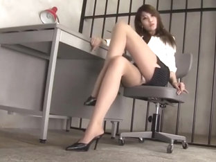 Beautiful Long Legs Sexy Asian Girl.