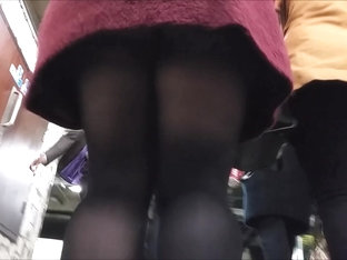 Snatched Bottom In Tights