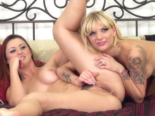 Lustful Girls Karlie And Jana Share Sex Toys And Wild Lesbian Tricks