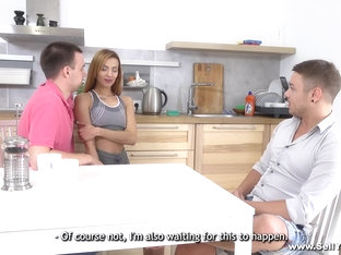 Sell Your Gf - Lina Montana - Gf Pussy For Business Partner
