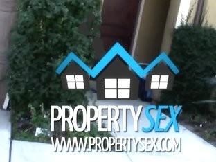 Propertysex Tenant With Amazing Natural Boobs Busted For Porn Torrents