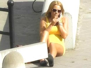 Hidden Cam On Hot Street Girl Bvr