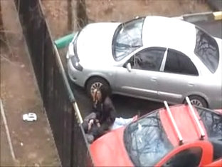 Couple Fucking In The Car Parking
