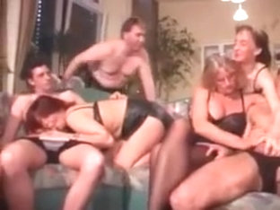 Nice Fun For Everyone In This Orgy