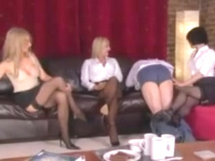 Three Women And A Sissy