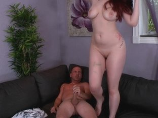 Natural Titted Redhead Ryan Smiles