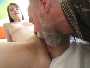 Slutty Babe Fucked Much Older Males Each Once In A While