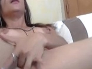 Sexy Latino Uses Fake Penis In Her Vagina And Gazoo
