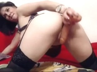 Nasty Black Brown Mother I'd Like To Fuck Whore On Webcam Blows And Copulates A Vibrator