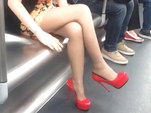 Shoeplay In Train