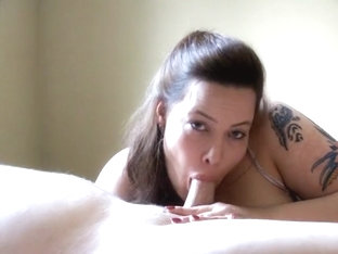 Swallowing Up A Sissy Tiny Cock