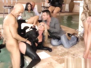 Cfnm Slut Banged And Mouth Jizzed In Orgy