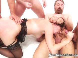 Alana Cruise  James Deen  Ramon Nomar  Steve Holmes  Toni Ribas In Alana Gets Her Dp And Double Va.