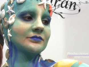 Naked Body Painting Color