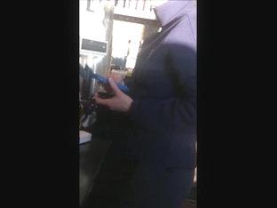 Hidden Camera Milf With Big Ass Hips In Spandex
