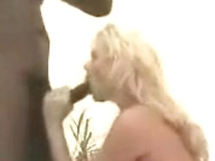 Blondie Older Filmed By Hubby With Darksome Dude Toy