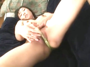 Horny Asian Hottie Fingering Herself