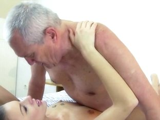 Red Hot Teen Loves To Get Doggy Fucked By Grandpa