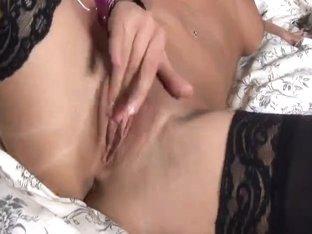 Czech Sweetheart Fingers Her Juicy Muff