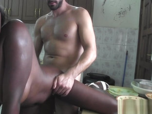 African Wife Leaves Young Male To Hard Fuck Her Black Pussy On Cam