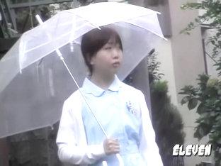 Petite Asian Nurse In Uniform And A Nice Ass Skirt Sharked