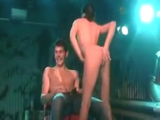 Lap Dance In The Striptease Club