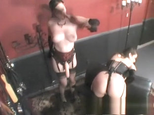 Anastasia And Jewell Fulfill Their Dark Lesbian Fantasy In The Dungeon