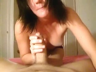 Girlfriend Sucks Me Off In The Bedroom