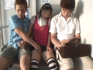 Maya Aikawa In A Threesome