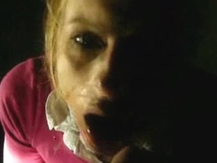 Oral Porn Movie Featuring Blonde Bitch Eating A Load Of Cum