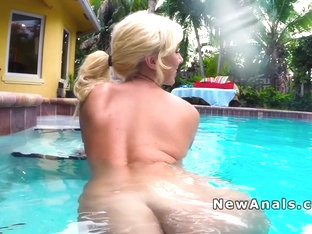 Blonde From Pool To Anal In Bedroom